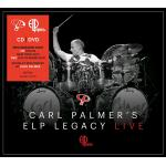 CARL PALMER'S LIVE - CD + DVD