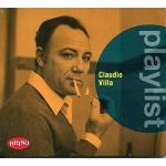 VILLA C. PLAYLIST CD